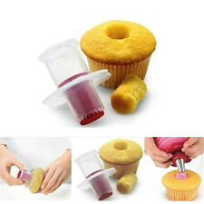 Perfect Cupcake Muffin Cake Corer Plunger Cutter Pastry Decorating Divider Model