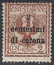 1919 TRENTO E TRIESTE 2 CENT MH * - RR11963-1