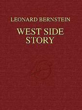 WEST SIDE STORY FULL SCORE SHEET MUSIC SONG BOOK