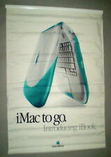 Apple Blueberry & Tangerine iBook Introduction Think Different Two Sided Banners