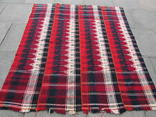 Old Tribal Nomadic Hand Made Persian Oriental Red Wool MOJJ Kilim 190x180cm