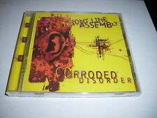 Front Line Assembly Corroded Disorder CD 1995 Industrial Rock Hard to Find