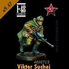 F 1-48 COMBAT - VIKTOR SUCHOJ - (WWII 32mm) BLISTER - NUOVO