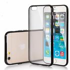 Hard Matte Clear Back Case with Soft Silicone TPU Bumper Cover for Apple iPhone6