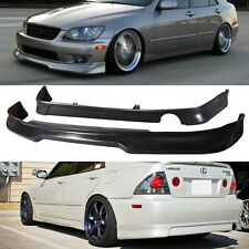 01-05 IS300 GDY ADD ON URETHANE FRONT REAR BUMPER LIP SPOILER BODY KIT