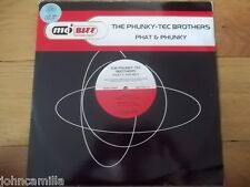 """THE PHUNKY-TEC BROTHERS - PHAT & PHUNKY 12"""" RECORD/VINYL - MO'BIZZ - MBZZ 034-12"""