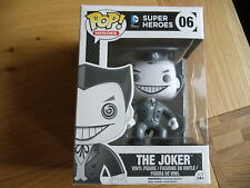 FUNKO POP JOKER BLACK & WHITE HOT TOPIC BLACK FRIDAY EXCLUSIVE (DC, MARVEL)