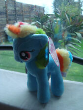 PELUCHE / PLUSH MON PETIT PONEY/ MY LITTLE PONY RAINBOW DASH 18 cm ref 760011748