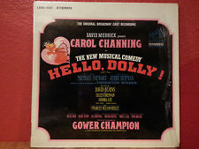 HELLO DOLLY Broadway Musical Soundtrack Cast Recording CAROL CHANNING LSOD-1087