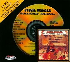 SEALED AUDIO FIDELITY GOLD CD - Fulfillingness' First Finale by Stevie Wonder