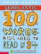 100 Words Kids Need to Read by 3rd Grade 100 Words Math Workbook)