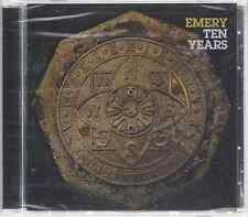 Emery-Ten Years CD Christian Indie/Alternative 2011 Tooth & Nail Brand NewSealed