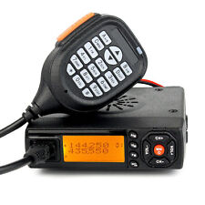 Móvil Radios for Coche/autobús/Taxi 144/430MHz VHF/UHF 25W Vehicle Two Way Radio
