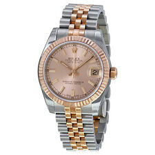 Rolex Datejust Lady 31 Automatic Pink Rose Dial Stainless Steel and 18k Pink