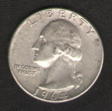Silver Quarter for Sale 1964-D U.S. 25 Cents Coin with FREE and Fast Delivery
