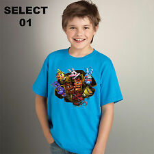 five nights at Freddy's unisex kids t-shirts boy's girl's Birthday gifts pizza