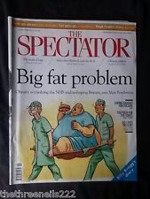 THE SPECTATOR - NHS & OBESITY - OCT 12 2013