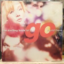 """NM 12""""~The DARLING BUDS~Let's go Round There~Turn You On~Different Daze~[UK IMPO"""
