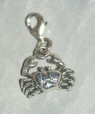 Zodiac: Cancer / Crab [ 925 Sterling Silver ] Charm