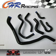 Silicone  hose for CIVIC D15/D16 CX/DX/EX/LX/HX/SI/S EG/EK 1992-2000 black color