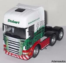 CARARAMA 1:50 SCALE SCANIA EDDIE STOBART UNIT/CAB ONLY 'SUSAN DAWN'.