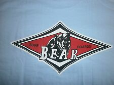 BEAR SURFBOARDS BIG WEDNESDAY SURF SURFING SURFBOARD BEACH LONGBOARD FIN S/S XL