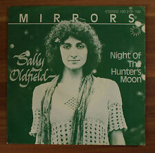 "Single 7"" Vinyl Mirrors - Sally Oldfield - Night of the hunter´s moon"