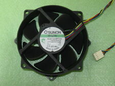 SUNON MagLev KDE1209PTVX 90mm / 80mm x 25mm CPU Round Cooling Fan 12V 7.0W 4Pin