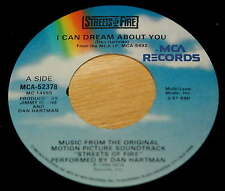 Dan Hartman 45 I Can Dream About You / Blue Shadows from Streets of Fire