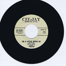 BETTY JAMES - I'M A LITTLE MIXED UP (Female Rockin' Blues Stroller) HOT REPRO