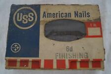 Vintage United States Steel USS American Nails Design Advertising