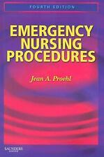 Emergency Nursing Procedures, 4th Edition, Jean A. Proehl, Acceptable Book