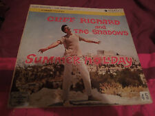 Cliff Richard and The Shadows Summer Holiday RARE Indian Vinyl LP