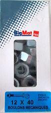 Boulons Mecanique tete hexagonale 12x40 Big Mat pas cher