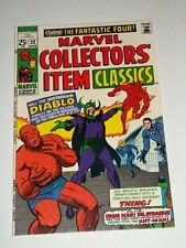 Marvel COLLECTORS' ITEM CLASSICS #22 Fantastic Four Diablo