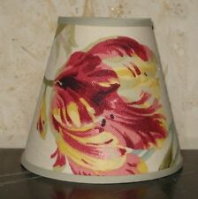 "Laura Ashley ""Gosford"" - 14.5cm Handmade Candle Clip Lampshade Wall/Base"