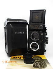 YASHICA MAT-124G TLR CAMERA WITH 80MM F3.5 LENS & CASE NEAR MINT