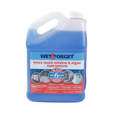 Wet and Forget 800006 1 Gallon Moss Mold Mildew Stain House Roof Cleaner Remover