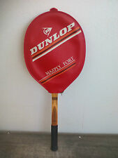 Antigua Raqueta de Tenis Dunlop Maxply Fort Graphite Tennis Racket with cover