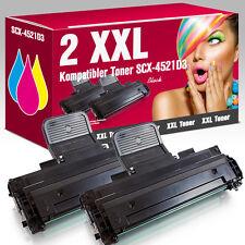 2 XXL Toner für Samsung SCX-4521D3 SCX 4521 F