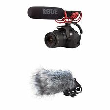 Rode VideoMic-R With Rycote Shock Plus Deadcat Bundle