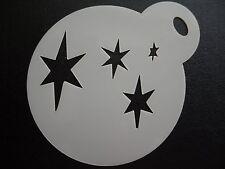 Corte láser Pequeña Cutie Mark Estrellas Diseño Pastel, Cookie, Craft & Plantilla de Pintura de cara