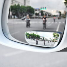 2pcs Stick On Rear-view Blind Spot Convex Wide Angle Mirrors Car Truck SUVs 2017