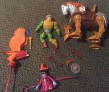 Vintage MOTU Lot Man-At-Arms Comp Screech Orko Stridor 1983 Extra Items