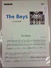 K-Pop Sheet Music (Guitar and Piano) Girls Generation - The Boys (MUSIC377)