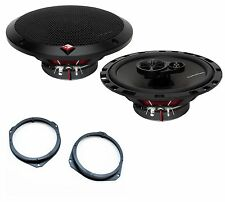Alfa Romeo Mito 2008-2014 Rockford Fosgate 17cm Front Door Speaker Upgrade Kit