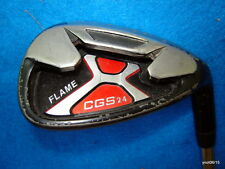 SAND WEDGE: CGS 24 *FLAME* right handed steel shaft Good Condition~golf club