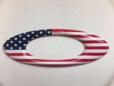 """New Oakley USA Icon Metal Sticker Decal 5"""" RARE!"""