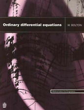 ORDINARY DIFFERENTIAL EQUATIONS (Mathematics for Engineers) - Bolton  HB