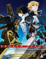 Broken Blade . The Complete Series Collection . Anime . 2 Blu-ray . NEU . OVP